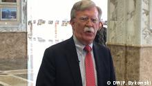 Weißrussland Minsk | John Bolton nach Treffen mit Alexander Lukaschenko