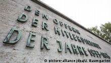DEUTSCHLAND, BERLIN - AUGUST 30: Gedenkstätte für die Opfer der Hitler-Diktatur in Berlin-Plötzensee. | Keine Weitergabe an Wiederverkäufer.