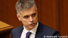 Ukraine Neuer Außenminister Vadym Prystaiko