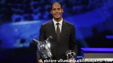 Monaco | Fußballspieler Virgil van Dijk (Liverpool) | Grimaldi Forum