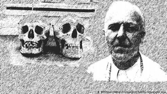 Hermann Voss: Czaszki Polaków i Żydów oferuję po umówionej cenie