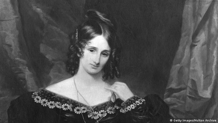 Schriftstellerin Mary Shelley (Getty Images/Hulton Archive)