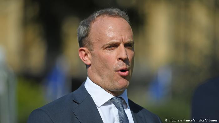 Dominic Raab (picture-alliance/empics/V. Jones)