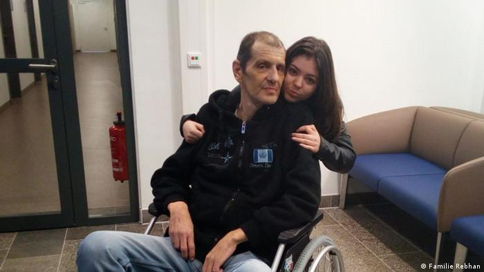 Лана Ребхан с отцом