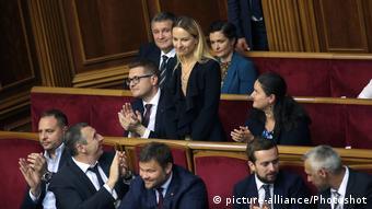 Очільниця міністрства соціальної політики Юлія Соколовська