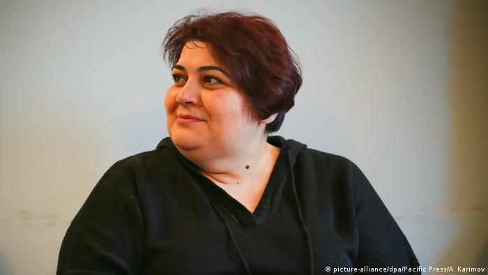 Журналистка Хадиджа Исмаилова