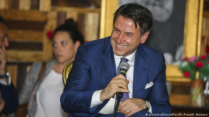 Giuseppe Conte (picture-alliance/Pacific Press/A. Balasco)