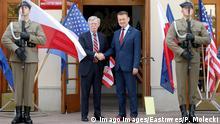 Polen Warschau | Verteidigungsminister Mariusz Blaszczak trifft John R. Bolton
