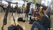 Journalisten warten auf Gefangenenaustausch zwischen Ukraine und Russland