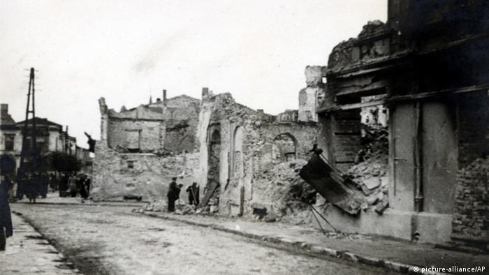 Polen Wielun Zerstörungen im zweiten Weltkrieg