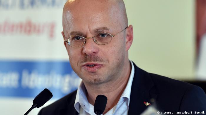 Andreas Kalbitz, candidato ao governo de Brandemburgo pela AfD