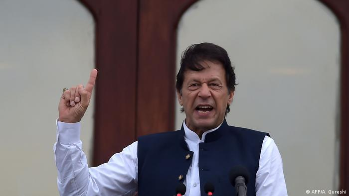 Pakistani PM Imran Khan (AFP/A. Qureshi)