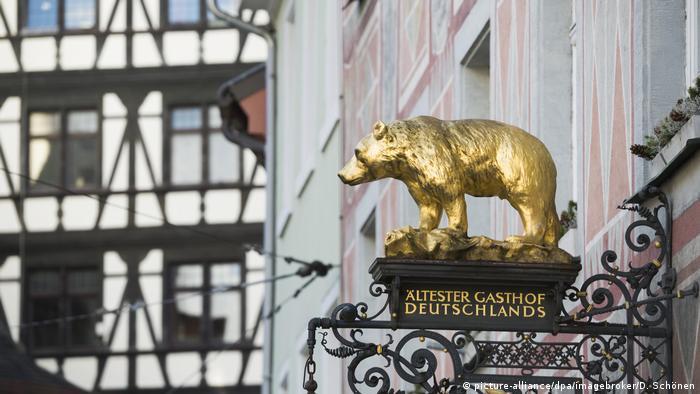 Самый старый постоялый двор в Германии Hotel Zum Bären