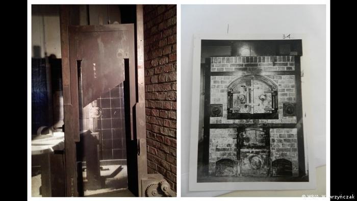 Gilotyna, na której ścinano ofiary dostarczane do Vossa oraz piec w Zakładzie Medycyny Sądowej w Poznaniu, w którym palono zwłoki Polaków i Żydów