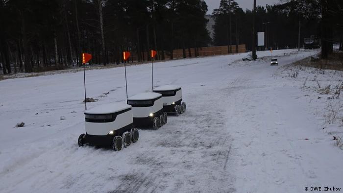 Роботы в Таллине