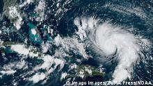 USA Tropensturm Dorian   Satellitenbild von Florida