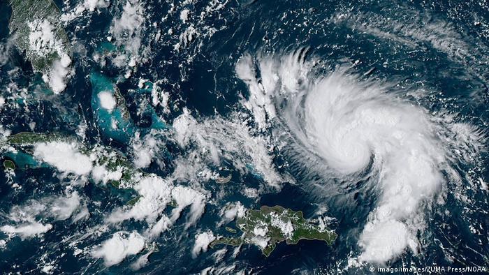 USA Tropensturm Dorian | Satellitenbild von Florida (imago images/ZUMA Press/NOAA)