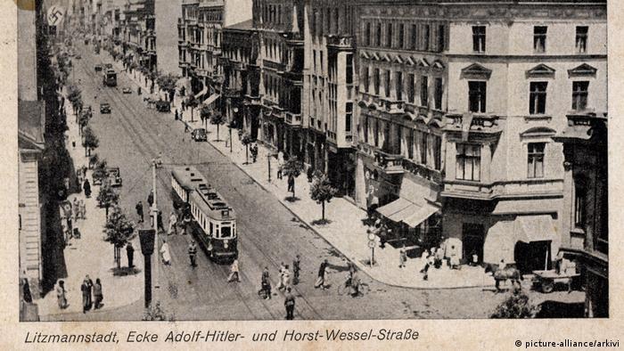 Łódź pod niemiecką okupacją nosiła nazwę Litzmannstadt