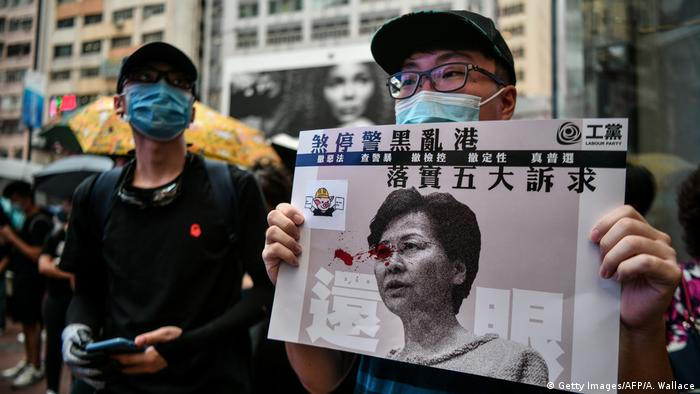 Hongkong China Politik Unruhen Protest (Getty Images/AFP/A. Wallace)