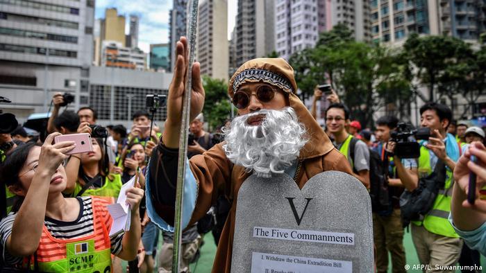 Hong Kong | Protest in Hong Kong (AFP/L. Suwanrumpha)