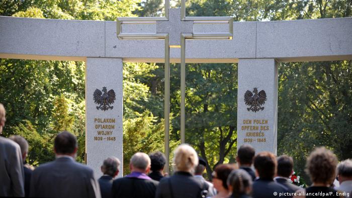 Jedno z miejsc pamięci w Niemczech: pomnik polskich ofiar wojny na Cmentarzu Wschodnim w Lipsku