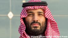 Saudi Arabien | Prinz Mohammed bin Salman (picture-alliance/abaca/Balkis Press)