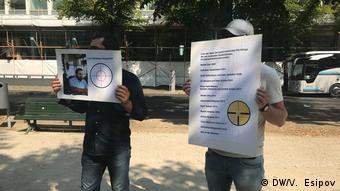 В Берлине прошли митинги с призывом к властям ФРГ расследовать убийство Хангошвили