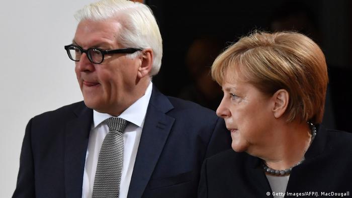 Berlin | Angela Merkel und Frank-Walter Steinmeier