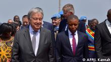 Demokratische Republik Kongo Guterres in Goma
