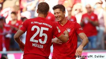 Deutschland Bundesliga Bayern München gegen Mainz 05 |