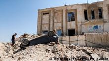 Syrien | Zerstörte Gesundheitseinrichtung nach mutmaßlichen russischer Luftangriff
