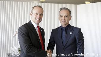 Finnland Helsinki | Bundesaussenminister Heiko Maas trifft den britischen Aussenminister Dominic Raab