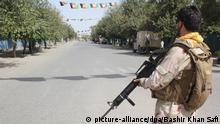Afghanistan Selbstmordattentat während andauernder Kämpfe in Kundus