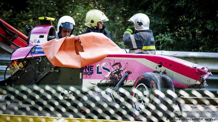 F2 Driver Anthoine Hubert Killed In Huge Crash At Spa