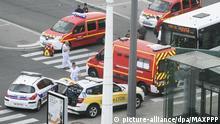 Frankreich Medien: Ein Toter und mehrere Verletzte bei Messerattacke bei Lyon