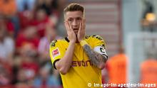 Berlin, Germany 31.08.2019, 1. Bundesliga, 3. Spieltag, 1. FC Union Berlin - Borussia Dortmund, Marco Reus (BVB) enttaeuscht, looks dejected ( Berlin Stadion An der Alten Foersterei Berlin Germany eu-images-01061009246 *** Berlin, Germany 31 08 2019, 1 Bundesliga, 3 Matchday, 1 FC Union Berlin Borussia Dortmund, Marco Reus BVB disappointed, looks dejected Berlin Stadium An der Alten Foersterei Berlin Germany eu images 01061009246 eu-images-061 DFL REGULATIONS PROHIBIT ANY USE OF PHOTOGRAPHS AS IMAGE SEQUENCES AND/OR QUASI-VIDEO.