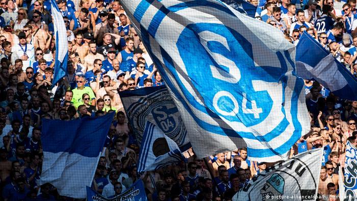 Bundesliga Love Is In The Air At Schalke Sports German Football And Major International Sports News Dw 26 09 2019
