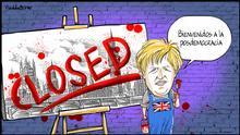 Karikatur von Vladdo | Boris Johnson