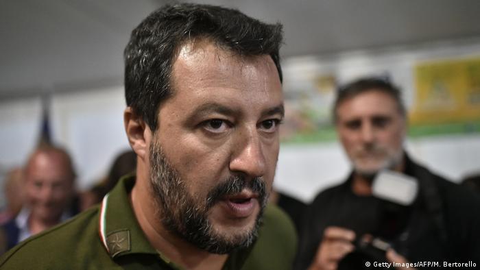 Italien Padua Matteo Salvini