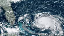 Satellitenbild Hurrikan Dorian