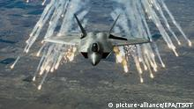 US-amerikanischer Kampfjet F-22