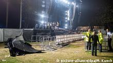 Deutschland - 20 Verletzte bei Rap-Konzert in Essen