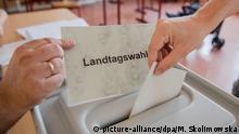 Landtagswahl in Brandenburg