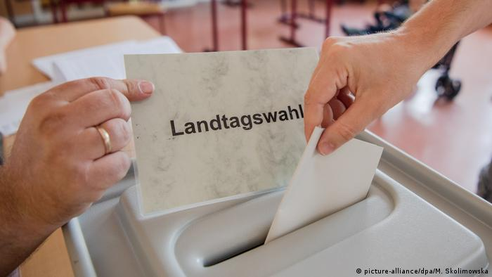 Landtagswahl in Brandenburg (picture-alliance/dpa/M. Skolimowska)