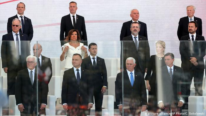 World leaders gather in Warsaw