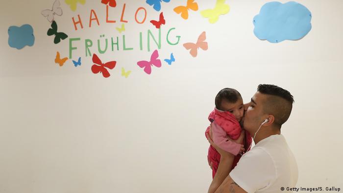 In Deutschland geborene Kinder von Geflüchteten (Getty Images/S. Gallup)