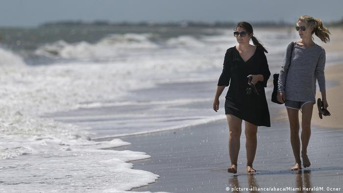 USA | Hurrikan Dorian (picture-alliance/abaca/Miami Herald/M. Ocner)