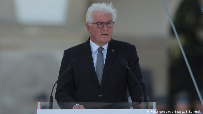 Image result for Frank-Walter Steinmeier at polish ceremony