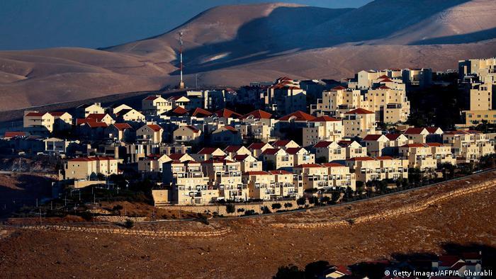 Pemukiman Yahudi di Tepi Barat (Getty Images/AFP/A. Gharabli)