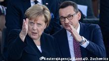 Berlin Gedenken an den Beginn des 2. Weltkrieges in Polen   Angela Merkel und Mateusz Morawiecki